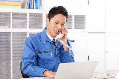 作業依頼書の受領・検査選別内容の確認